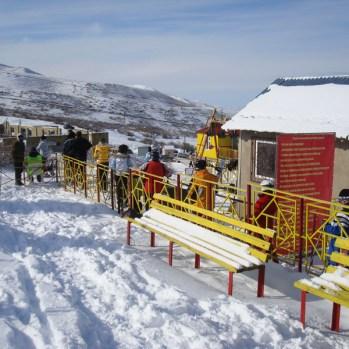 Kashka-Suu Ski Resort View