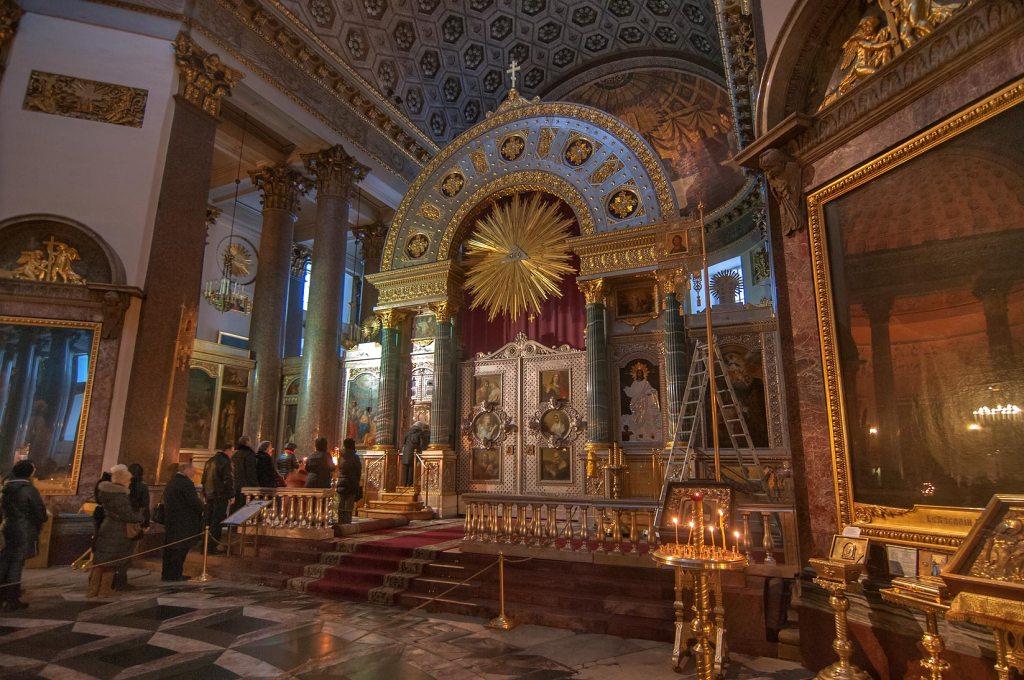 Kazan Cathedral Inside