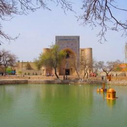 Lyab-i-Hauz Pond View