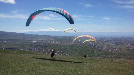 Paragliding Yerevan