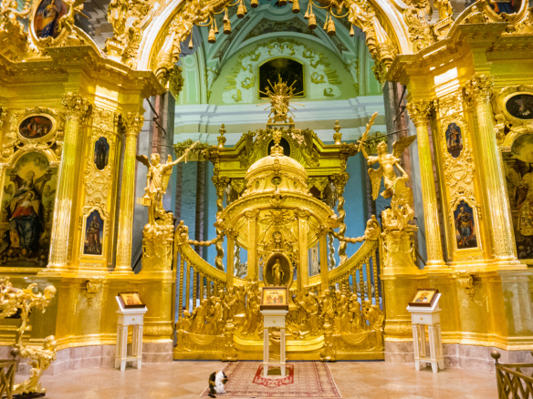 Peter and Paul Cathedral Inside