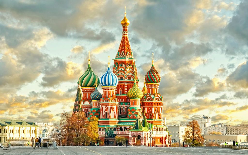 St. Basil's Cathedral Best View