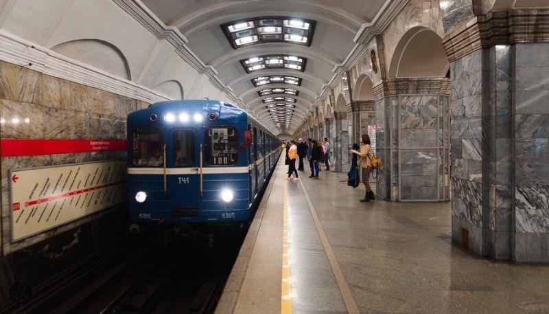 St. Petersburg Metro Train