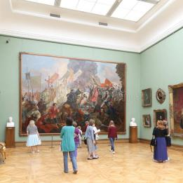 The State Tretyakov Gallery Wall Painting