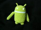 Bugdroid amigurumi Android