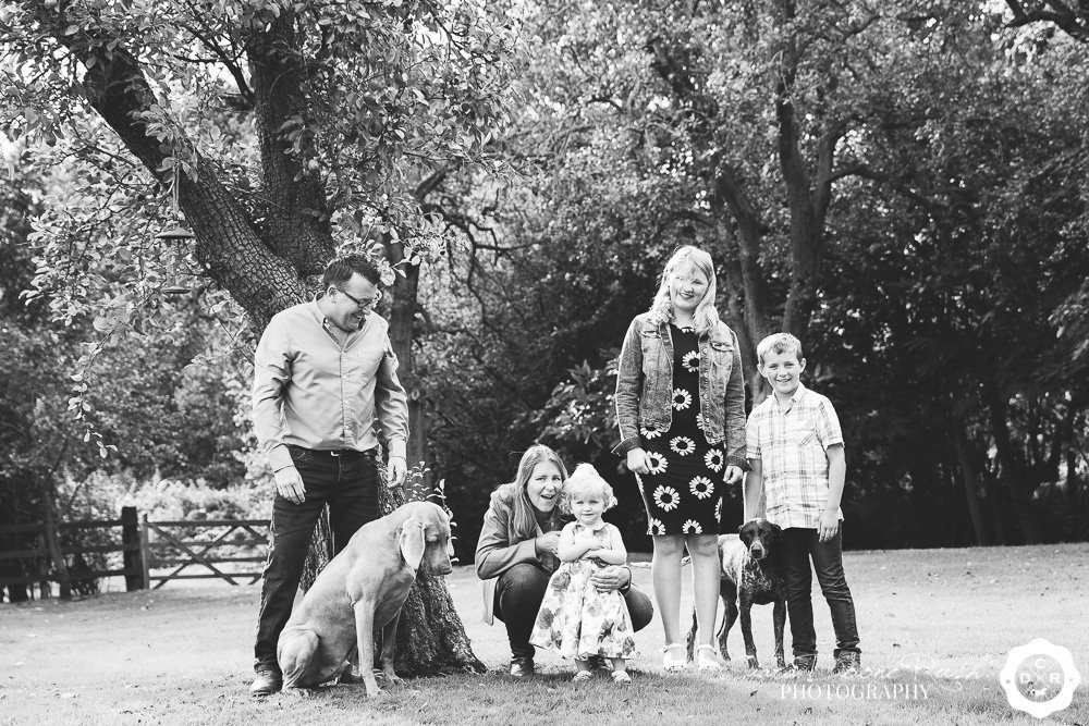 Kate's Family & Animals Photo Shoot
