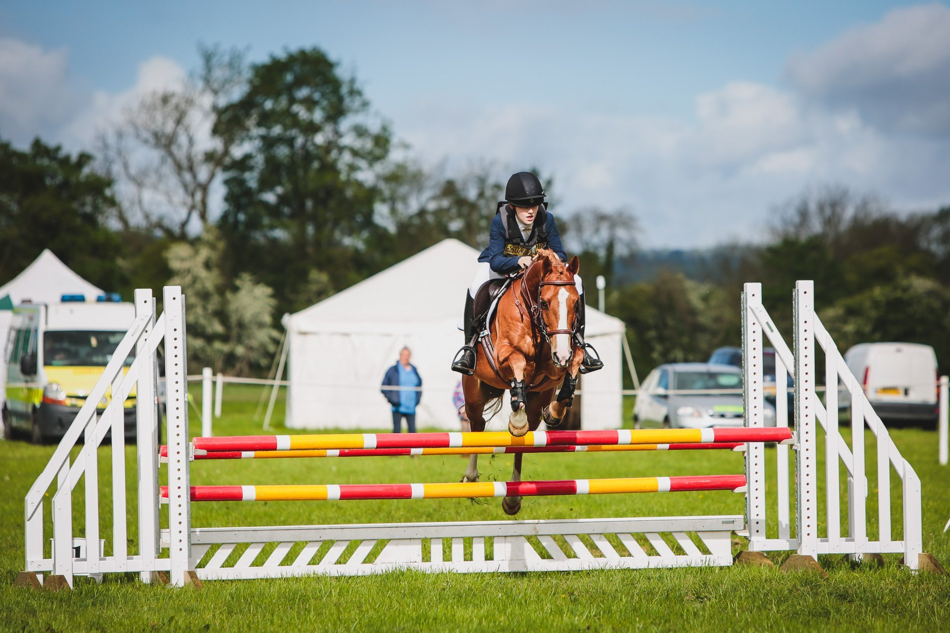 showjumping at Llanymynech horse trials