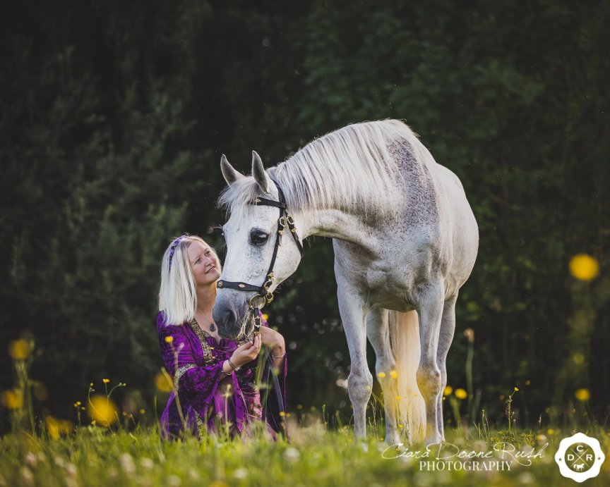 A Horse And Rider Photo Shoot in Merseyside