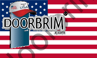 Doorbrim Door Hood | Made in USA