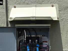 DOORBRIM Shorter Width Rain Hoods for Electric Panels