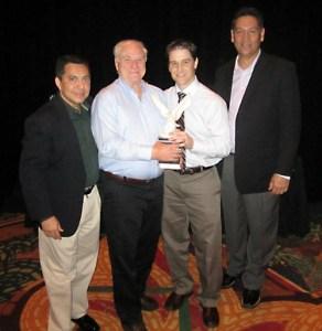 Joe and Jason McCune Eagle Award 2012