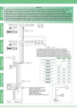 Comelit Style 5 Wiring Diagram  Wiring Diagram