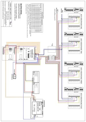 Videx Miscellaneous Wiring Diagrams