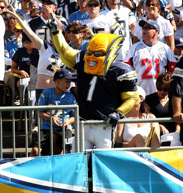 San Diego Chargers Boltman: The Sound Of The Beast