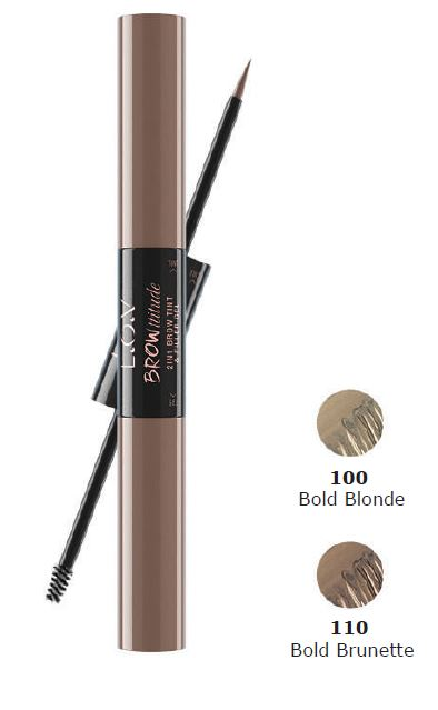 l.o.v. 2in1 brow tint & filler gel