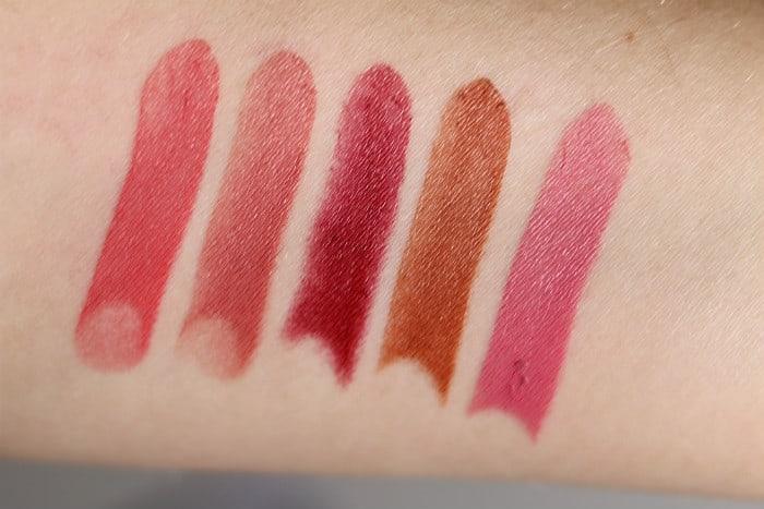 makeup revolution cream lipsticks lip advent calendar swatches