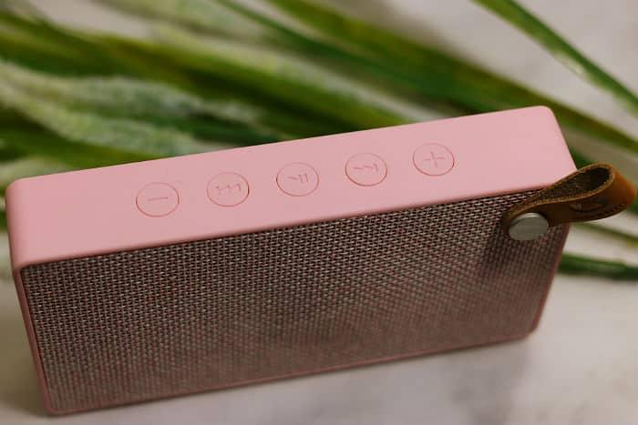 rockbox slice bluetooth speaker fresh n rebel