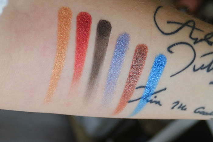 opvbeauty spotlight eyeshadow swatches