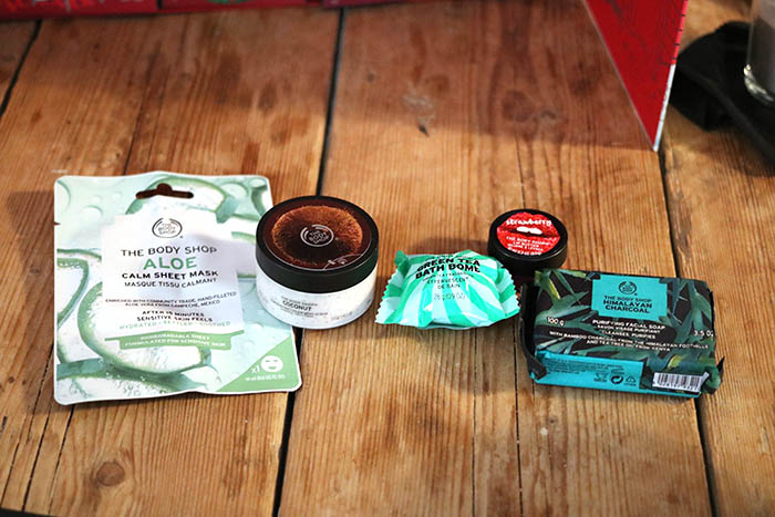 the body shop deluxe adventkalender