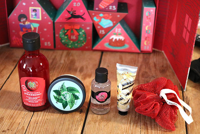 the body shop deluxe adventkalender unboxing