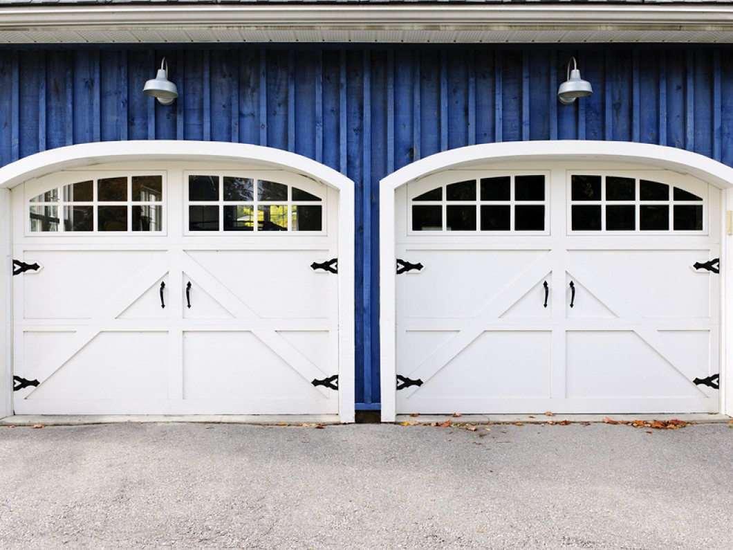 Residential garage doors greenfield garage door repair for Two door garage