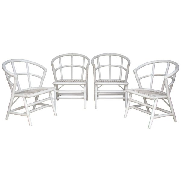Rattan Chairs by Willow & Reed