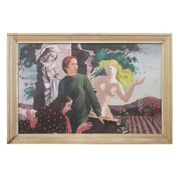 1930's Allegorical Painting