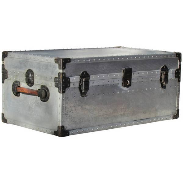 Riveted Aluminum Trunk