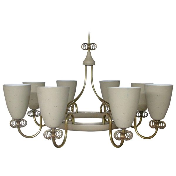 Ballerina Chandelier by Lightolier style Paavo Tynell