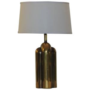 Streamlined Brass Lamp by Westwood Industries