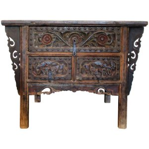 18th Century Chinese Altar Coffer