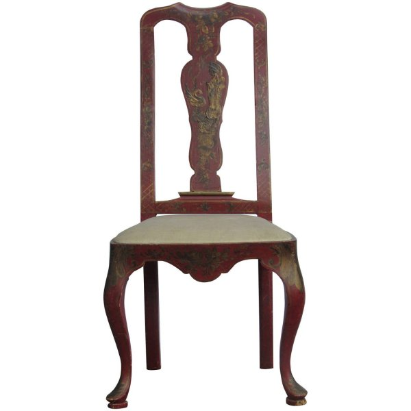 Venetian Chair with Chinoiserie Decoration