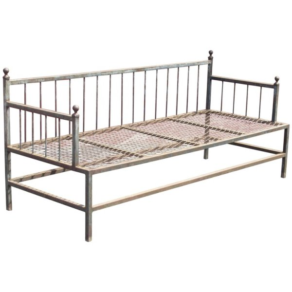 Classical Iron Daybed Settee