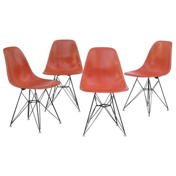 Eames Eiifel Tower Base Chairs