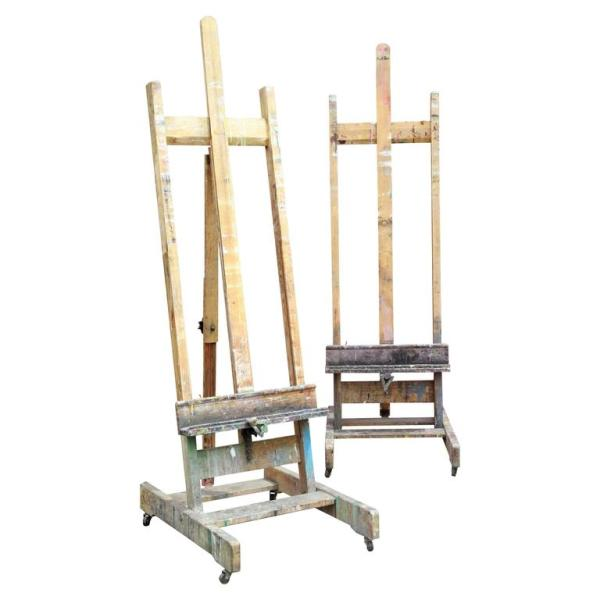 Wood Painters Easels