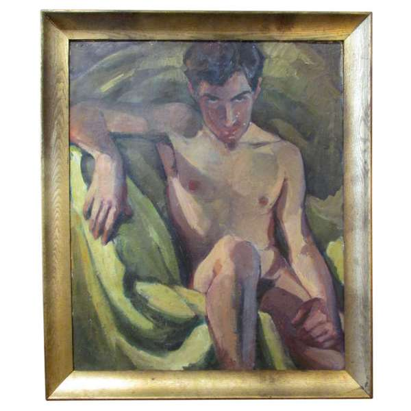 Nude Painting of the Sultry Edouardo