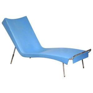 California Modern style Fiberglass Chaise Lounge