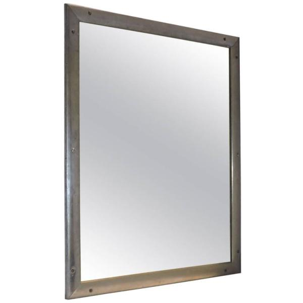 Industrial Riveted Mirror