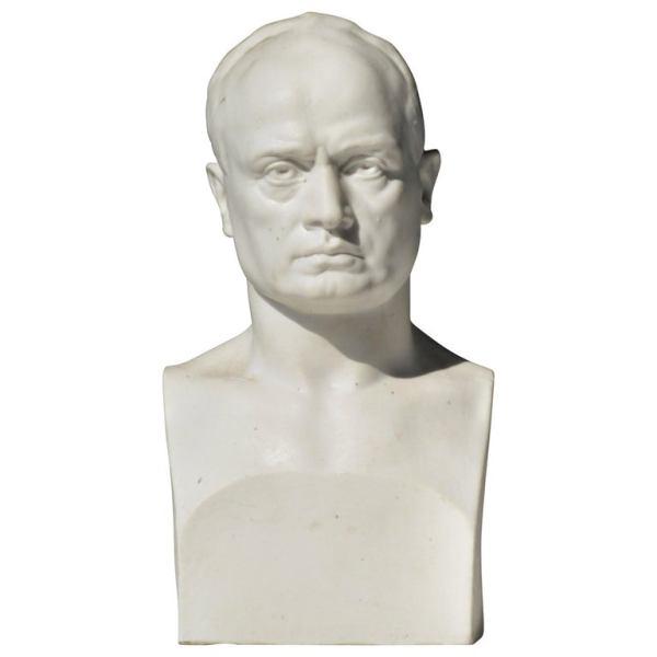 Classical Parian Bust by Gaetano Chiaromonte