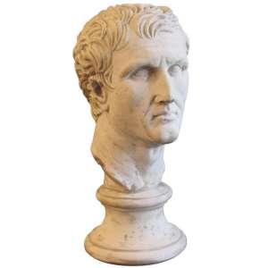 Plaster Bust Roman