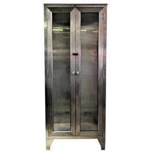 American Industrial Stainless Steel Cabinet 1930 - 1940