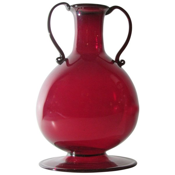 Classic Blown Glass Vase by Vittorio Zecchin for Venini