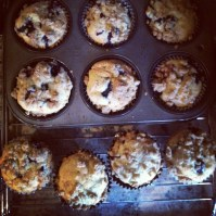 Blueberry Crumb Top Muffins