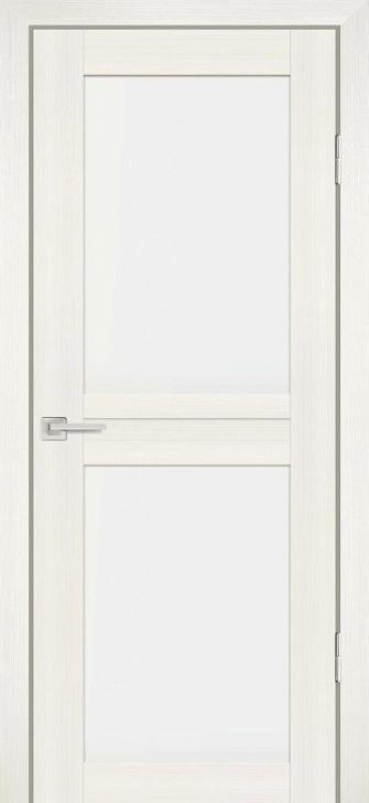 Межкомнатная дверь PROFILO PORTE PS-04, Перламутровый дуб со стеклом Сатинат