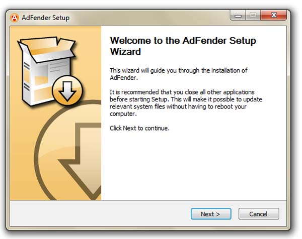 02 adfender remove website advertisements