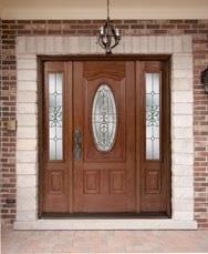 fiberglass doors entryway
