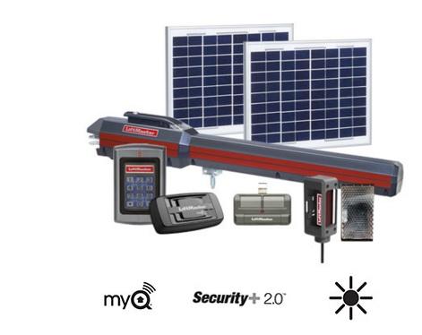 Liftmaster Solar Powered Garage Door Opener Dandk Organizer