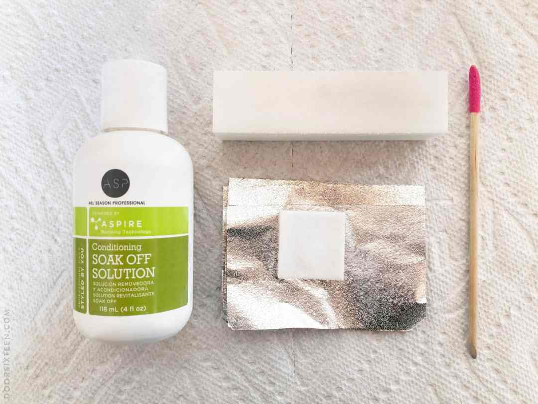 DIY gel manicure removal - doorsixteen.com