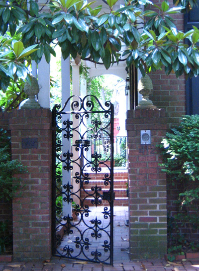 Wrought Iron Gate 171 Doorways Around The World