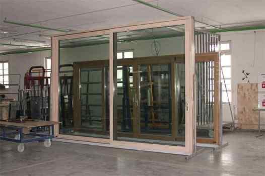 Подъемносдвижные деревянные оконные системы